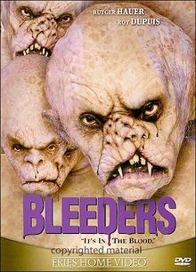 Bleeders dvd cover