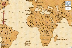 Google Treasure Maps