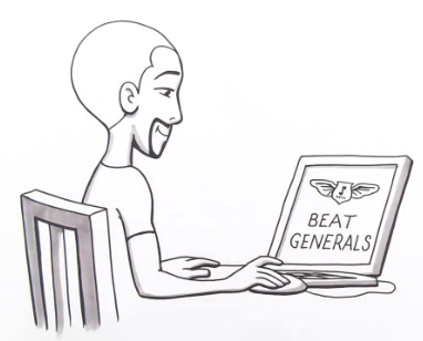 Beat Generals cartoon