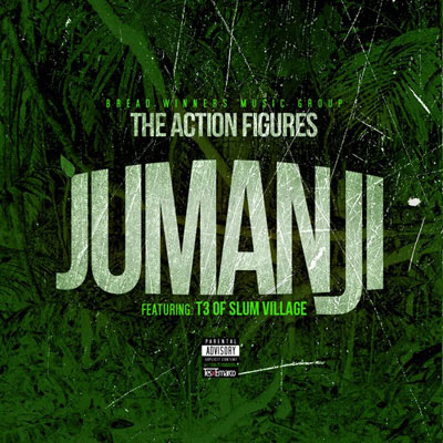 Action Figures Jumanji cover