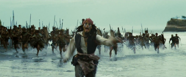 jack sparrow escaping