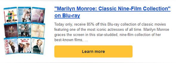 marilynmonroe deal