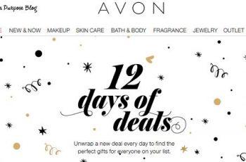 Avon 12 Days of Deals