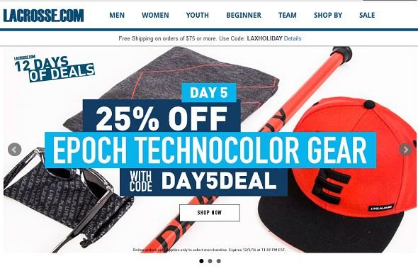 lacrosse 12 days of deals