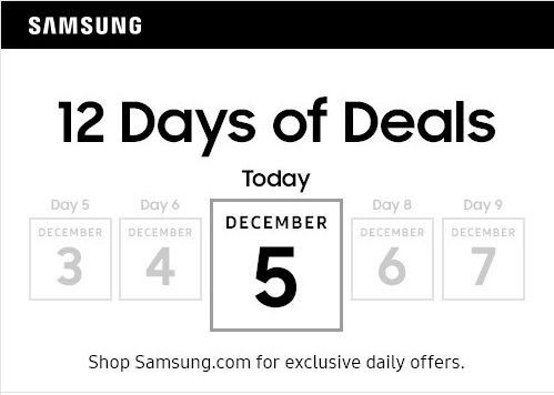 Samsung 12 Days of Deals